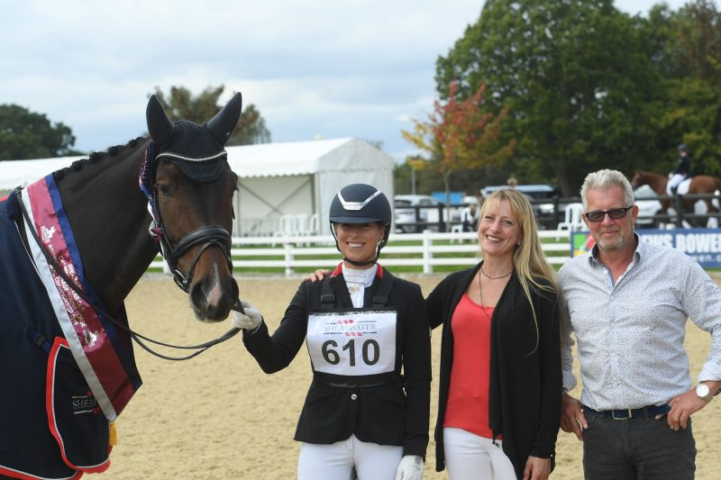 Freeman 6YO Dressage Champion
