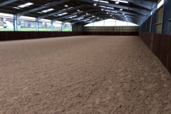 Equine Construction - open sided indoor arena