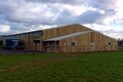 Equine Construction - Indoor Arena External View